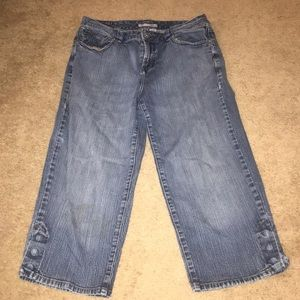 Chico's SIZE 1.5!!! IMPORTANT! Cropped Jeans